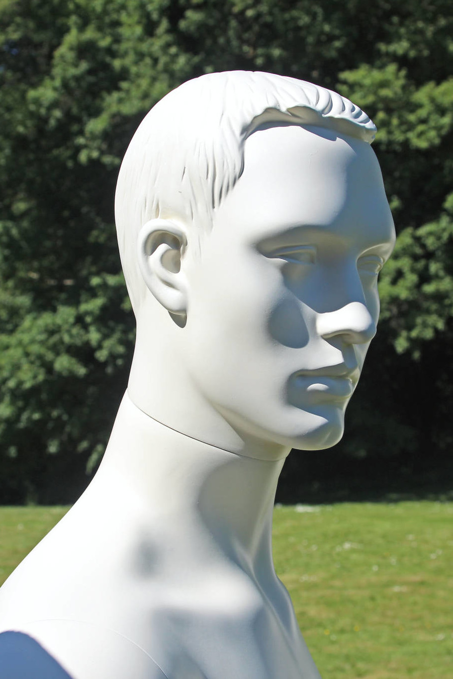 Stylised malemannequins