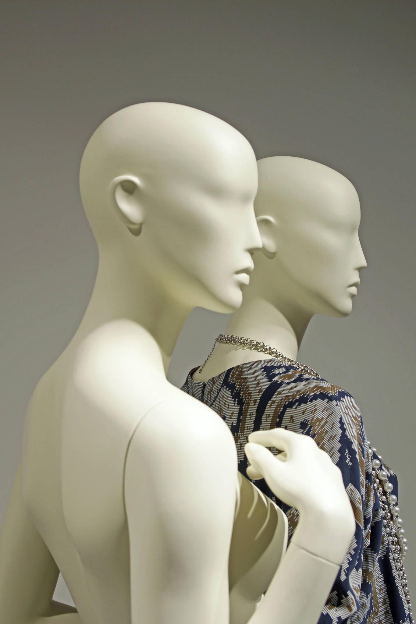 Designmannequiner udviklet til de store modehuse.