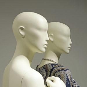 Design mannequiner, 9 forskellige positioner.