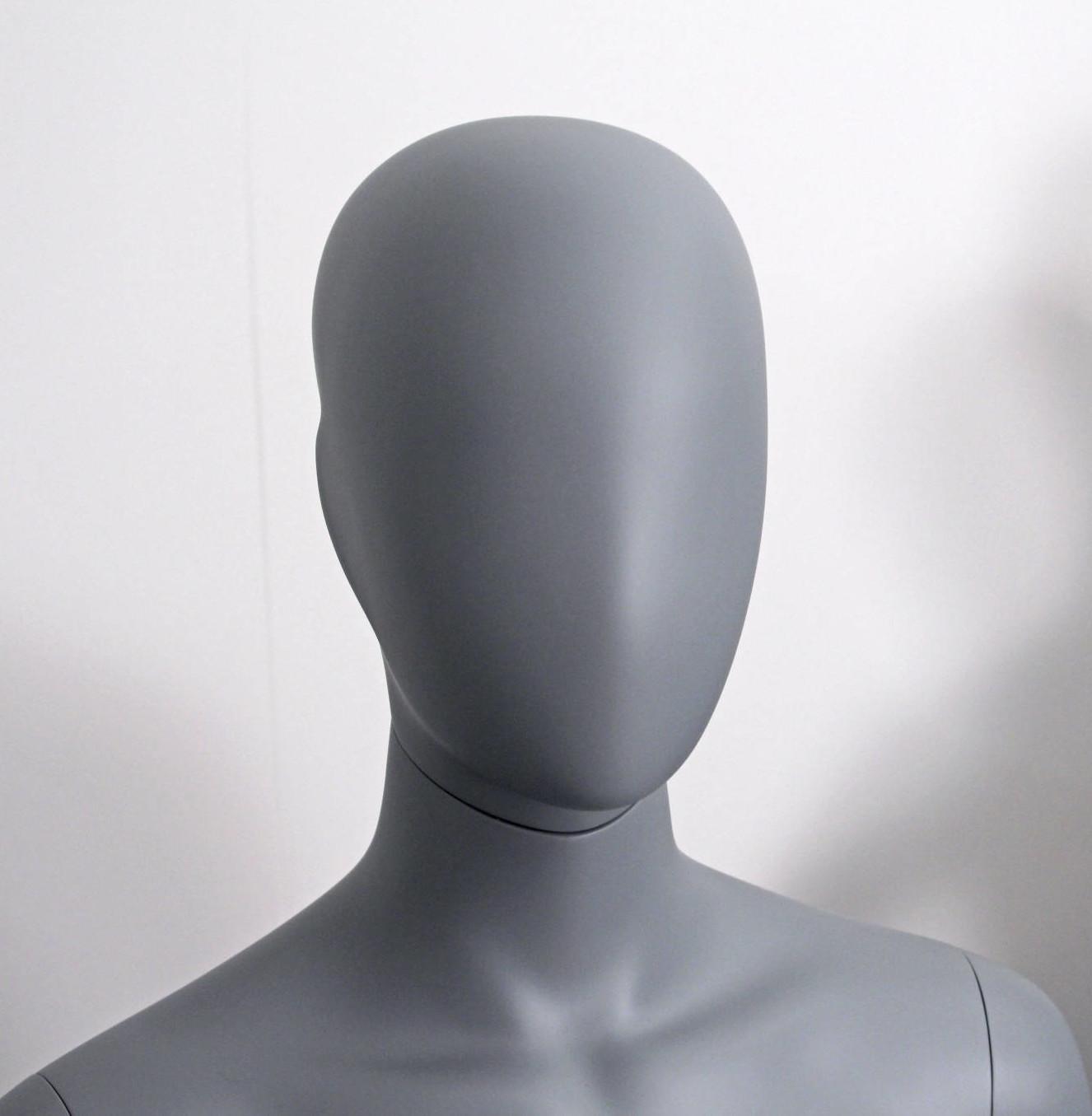 Sophia Grey moon mannequin - faceless mannequin