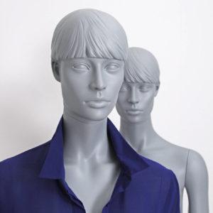 mannequin grå, en flot og moderne dame mannequin