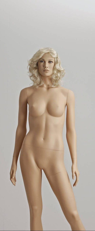 Parykker i blonde nuancer og i forskellige længder