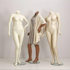 + size dame mannequiner i størrelse 42 - 44
