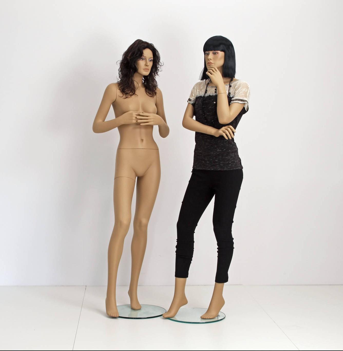 Billig mannequin. Tilbud billig mannequin med paryk naturalistisk