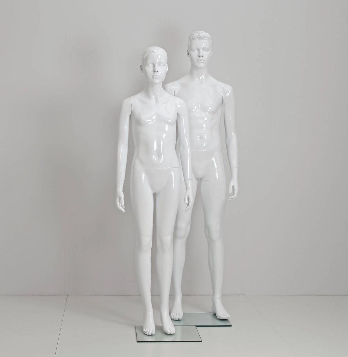 Teenage mannequin til modebutikker