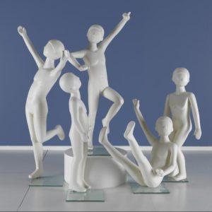 Legende børne mannequiner