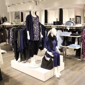 Podie til mannequiner og butiksinventar skaber vækst