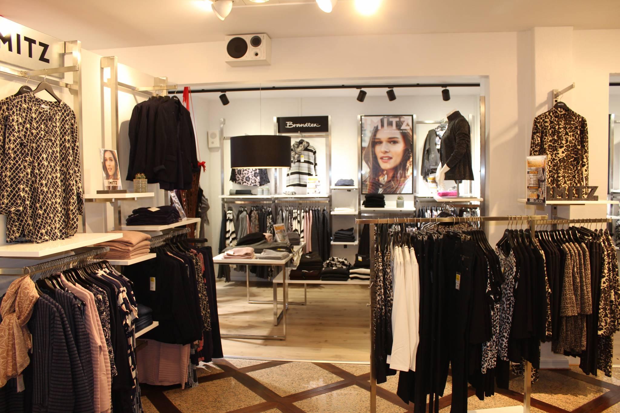 indretning af modebutik