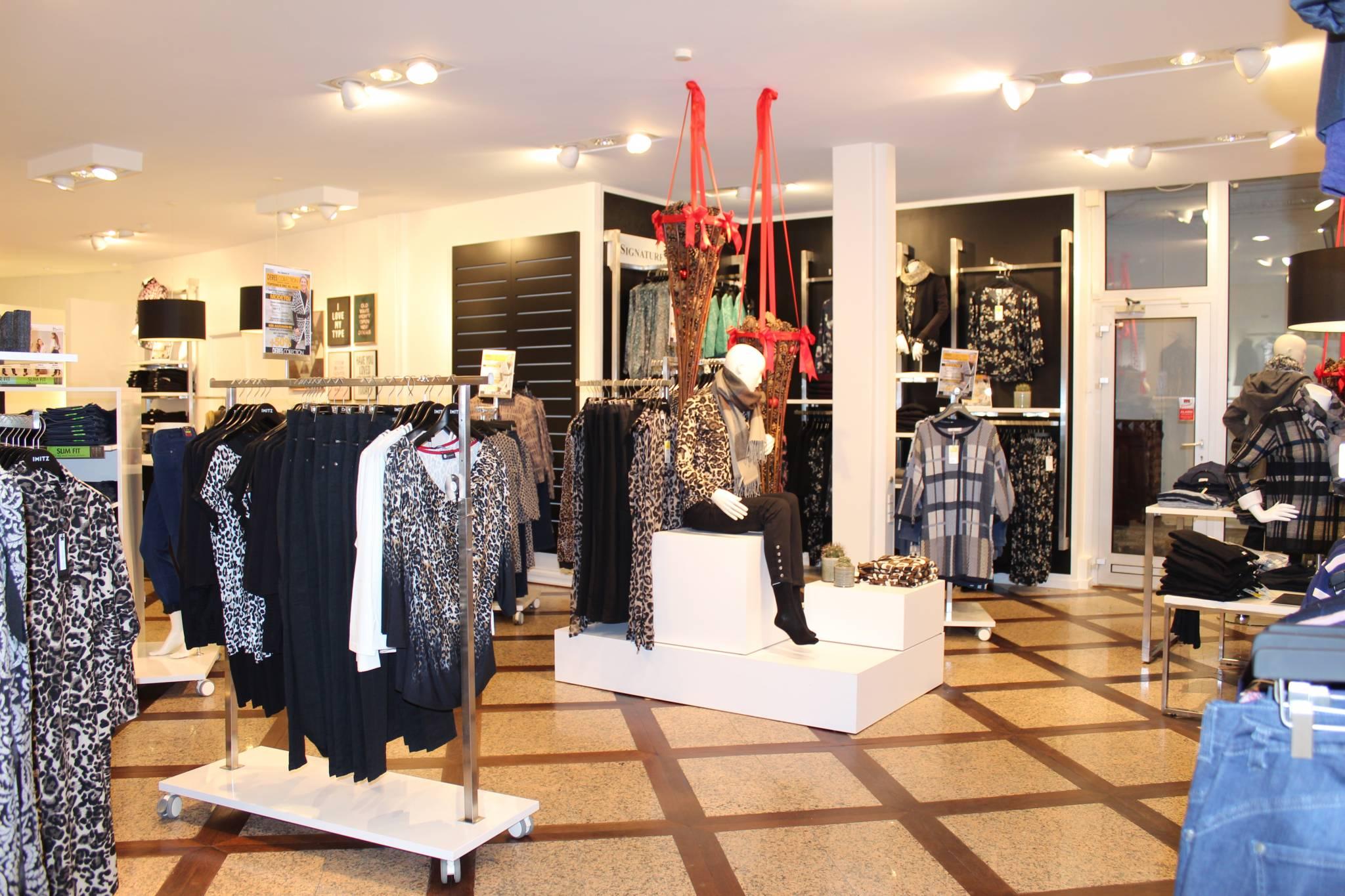 Indretning af butik hvor det ene fokus området er en salgsø