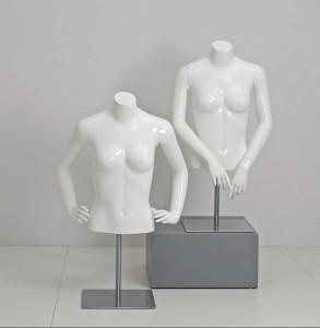 Kort dame torso